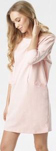 Różowa tunika born2be