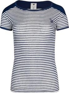 T-shirt G-Star Raw w stylu casual z okrągłym dekoltem z krótkim rękawem