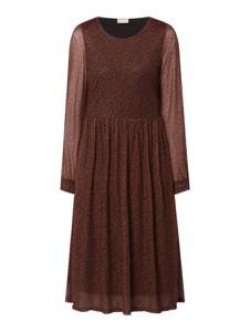 Brązowa sukienka Vila