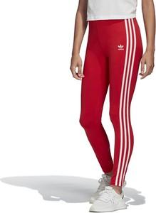Spodnie Adidas w sportowym stylu z dzianiny