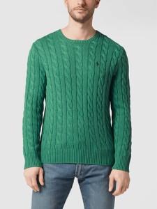 Sweter POLO RALPH LAUREN z okrągłym dekoltem w stylu casual z bawełny