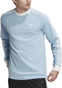 Koszulka z długim rękawem Adidas z bawełny