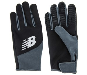 Rękawiczki New Balance ze skóry