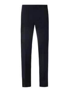 Granatowe spodnie Pierre Cardin z wełny