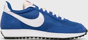 Niebieskie buty sportowe Nike Sportswear ze skóry