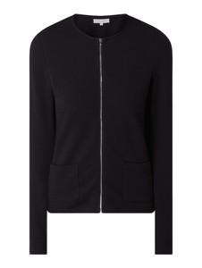 Czarna bluza Christian Berg Women z bawełny