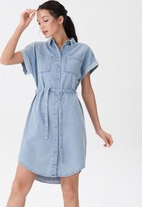 Sukienka House w stylu casual szmizjerka mini