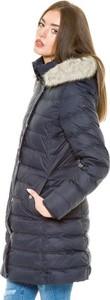 Granatowy płaszcz Tommy Hilfiger