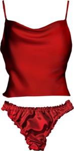Czerwony komplet bielizny So Fluffy