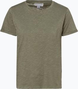 Zielony t-shirt Marie Lund z krótkim rękawem