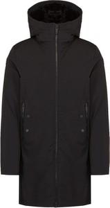 Czarny płaszcz Fusalp w stylu casual