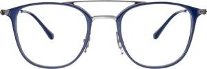 Niebieskie okulary damskie Ray-Ban