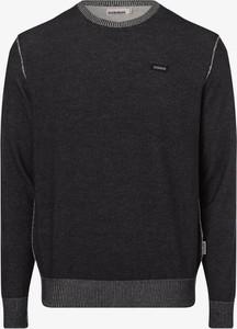 Sweter Napapijri z okrągłym dekoltem
