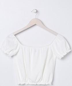 Bluzka Sinsay z krótkim rękawem w stylu boho