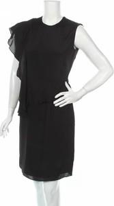 Czarna sukienka 2nd Day mini z okrągłym dekoltem