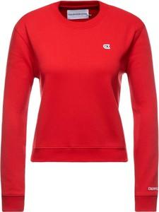 Czerwona bluza Calvin Klein krótka
