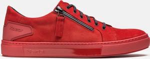 Kazar Czerwone sneakersy męskie