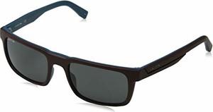 Lacoste męskie okulary przeciwsłoneczne L866S 604 56, matowe burgundy