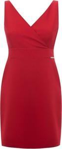 Czerwona sukienka Ivon mini