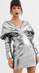 Sukienka Asos Edition z długim rękawem mini