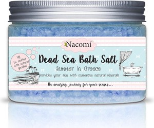 Nacomi, Dead Sea Bath Salt, sól do kąpieli z minerałami Morza Martwego, Summer In Greece, 450g