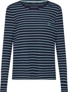 Bluzka Vero Moda z dżerseju z długim rękawem w stylu casual