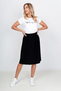 Czarna spódnica Zoio w stylu casual
