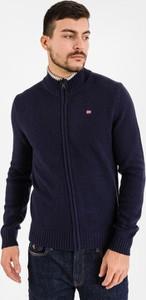 Sweter Napapijri w sportowym stylu z wełny