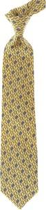 Zielony krawat Balmain