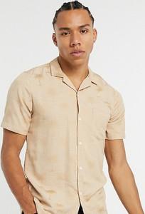 Koszula Asos z tkaniny z nadrukiem