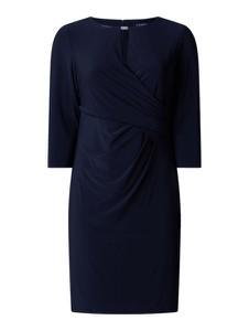 Czarna sukienka Ralph Lauren z długim rękawem w stylu casual mini