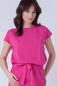 Różowa sukienka butik-choice.pl mini