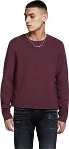 Sweter Jack & Jones z wełny z okrągłym dekoltem w stylu casual