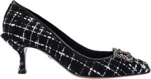 Czarne czółenka Dolce & Gabbana