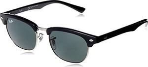 Ray-Ban Junior Ray-Ban Unisex-dziecięce okulary przeciwsłoneczne Junior 100/71, czarne (black/green), 47