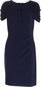 Sukienka POLO RALPH LAUREN dopasowana mini z tkaniny