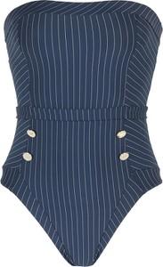 Granatowy strój kąpielowy Emporio Armani