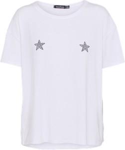 T-shirt boohoo z krótkim rękawem z dżerseju