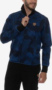 Niebieska bluza Sam 73 z bawełny
