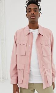 Różowa kurtka Asos Design w stylu casual