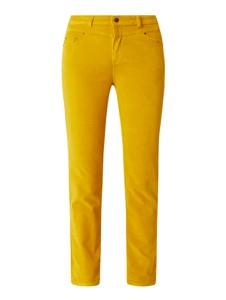 Spodnie Esprit ze sztruksu w stylu casual