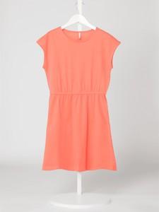 Różowa sukienka dziewczęca Only z dżerseju