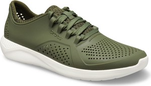 Crocs khaki trampki męskie LiteRide Pacer Army Green/White
