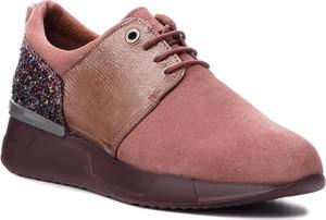Fioletowe buty sportowe Hispanitas sznurowane