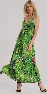 Zielona sukienka Renee na ramiączkach