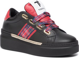 Sneakersy Togoshi sznurowane na platformie
