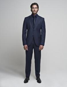 b5d7c2a645ef5 niebieski garnitur na wesele - stylowo i modnie z Allani