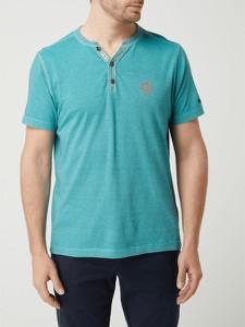 T-shirt Lerros z krótkim rękawem z bawełny