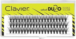 Clavier, DU2O Double Volume, kępki rzęs, 13 mm