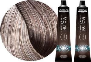 L'Oreal Paris Loreal Majirel Cool Cover   Zestaw: trwała farba do włosów o chłodnych odcieniach - kolor 8.11 jasny blond popielaty głęboki 2x50ml - Wysyłka w 24H!